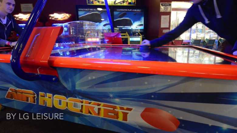 Air Hockey table game from LG Leisure